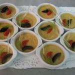 Apéritif - Verrine salée - Crème brulée au foie gras