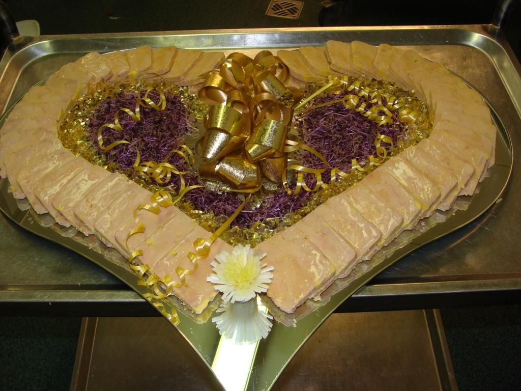 Buffet à la carte , Terrine de foie gras maison