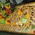 Buffet chic - Préssé de foie gras de canard aux pruneaux