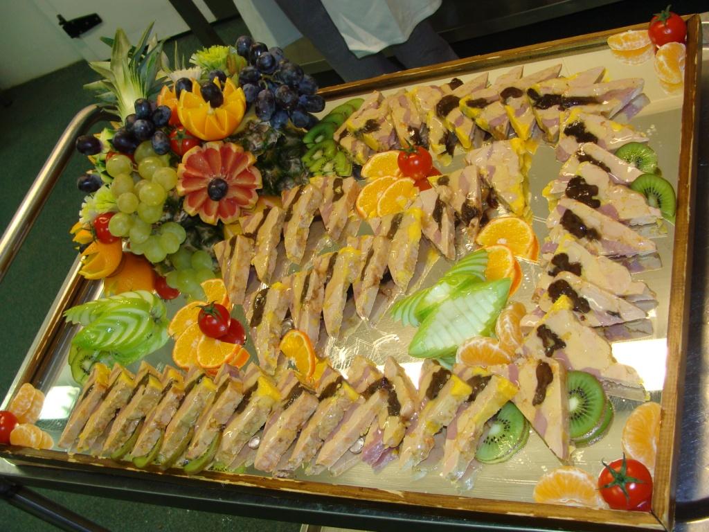 Gourmet services r alisations id es gourmandes et - Decoration assiette de foie gras photo ...