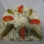 Buffet crudités - Salade de pomme de terre Grand mère