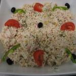 Buffet crudités - Salade de riz Languedocienne
