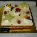 Buffet dessert - Retour des îles chocolat banane