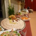 Présentation de buffet froid
